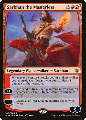 Sarkhan the Masterless [War of the Spark]