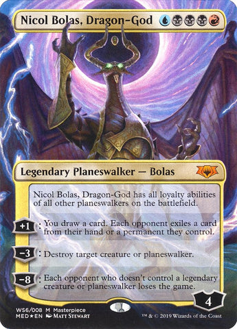Nicol Bolas, Dragon-God [Mythic Edition: War of the Spark]