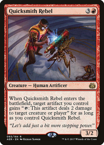 Quicksmith Rebel [Aether Revolt]