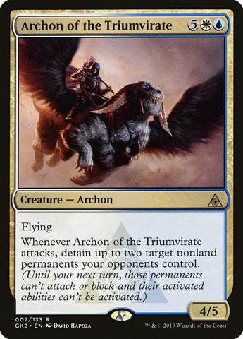 Archon of the Triumvirate [Ravnica Allegiance: Guild Kits]