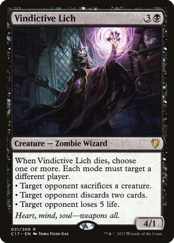 Vindictive Lich [Commander 2017]