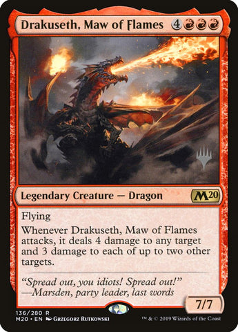 Drakuseth, Maw of Flames [Promo Pack: Core Set 2020]