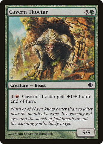 Cavern Thoctar [Shards of Alara]