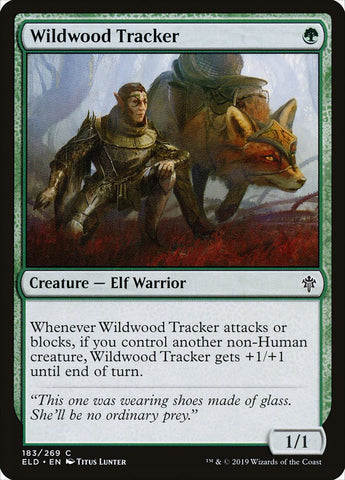 Wildwood Tracker [Throne of Eldraine]