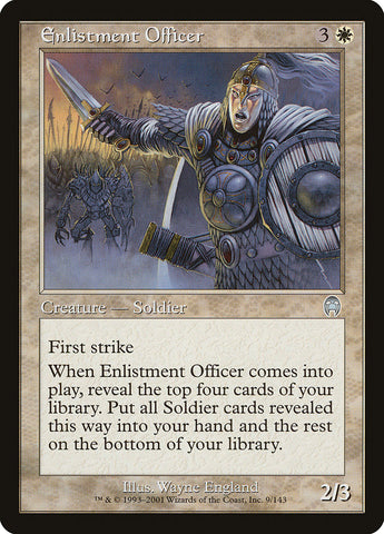 Enlistment Officer [Apocalypse]