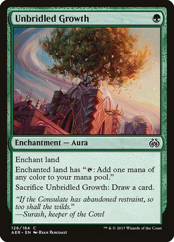 Unbridled Growth [Aether Revolt]