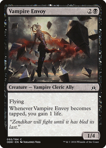 Vampire Envoy [Oath of the Gatewatch]