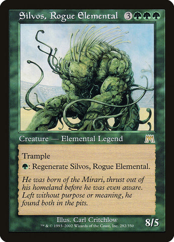 Silvos, Rogue Elemental [Onslaught]