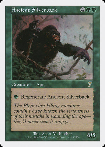 Ancient Silverback [7th Edition]