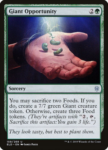 Giant Opportunity [Throne of Eldraine]
