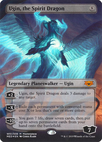Ugin, the Spirit Dragon [Mythic Edition: War of the Spark]