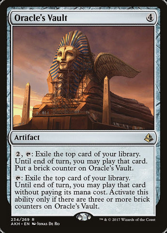 Oracle's Vault [Amonkhet]