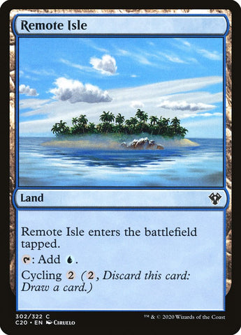 Remote Isle [Commander 2020]