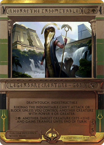 Rhonas the Indomitable [Masterpiece Series: Amonkhet Invocations]