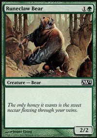 Runeclaw Bear [Magic 2012 (M12)]