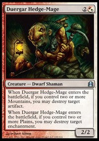 Duergar Hedge-Mage [Commander]