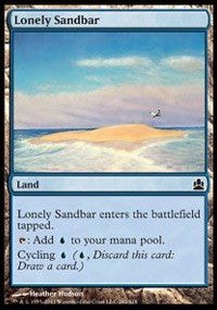Lonely Sandbar [Commander]