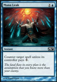 Mana Leak [Magic 2012 (M12)]