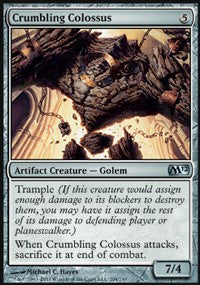 Crumbling Colossus [Magic 2012 (M12)]