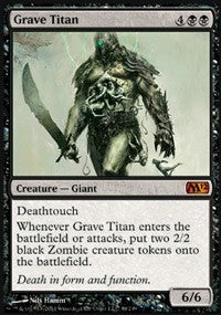 Grave Titan [Magic 2012 (M12)]