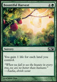 Bountiful Harvest [Magic 2012 (M12)]