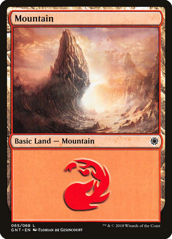 Mountain (65) [Magic Game Night]