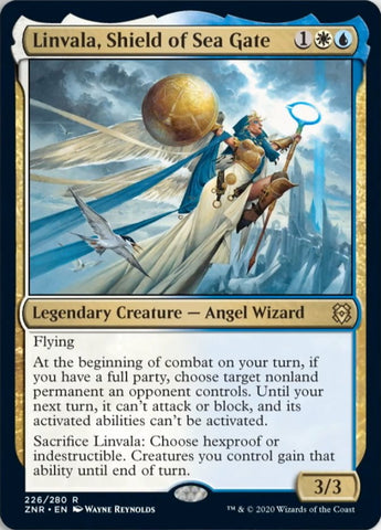 Linvala, Shield of Sea Gate [Zendikar Rising]