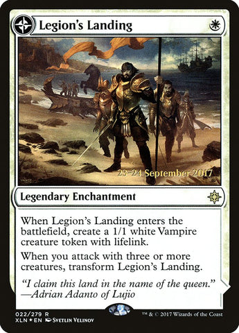 Legion's Landing [Prerelease Cards]