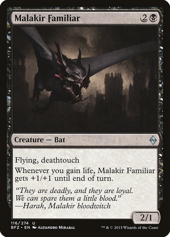 Malakir Familiar [Battle for Zendikar]