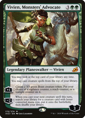 Vivien, Monsters' Advocate [Ikoria: Lair of Behemoths]