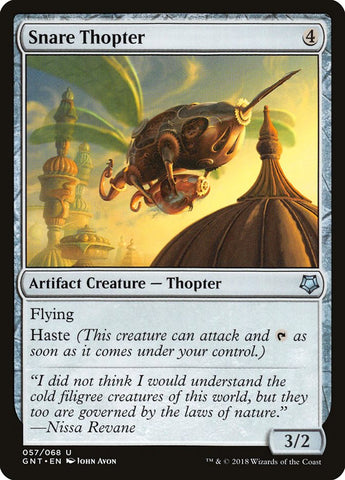 Snare Thopter [Magic Game Night]