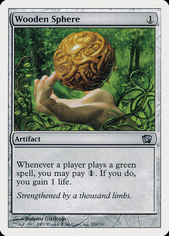 Wooden Sphere [8th Edition]