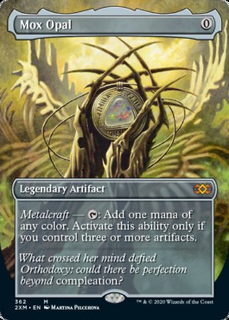 Mox Opal (Borderless) [Double Masters]