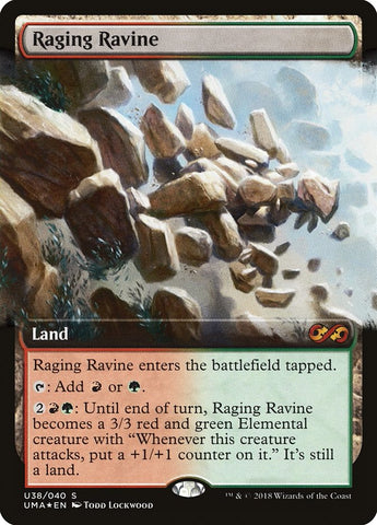 Raging Ravine [Ultimate Masters: Box Toppers]