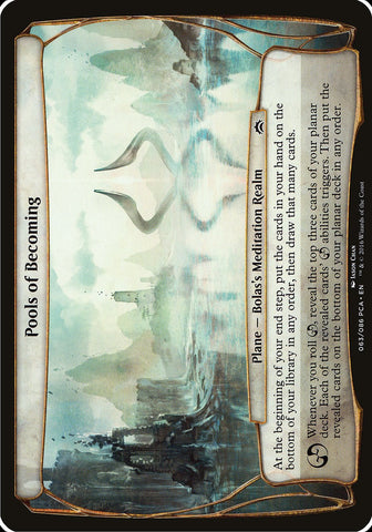 Pools of Becoming (Planechase Anthology) [Oversize Cards]