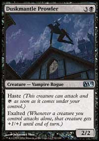 Duskmantle Prowler [Magic 2013 (M13)]