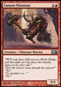 Canyon Minotaur [Magic 2013 (M13)]