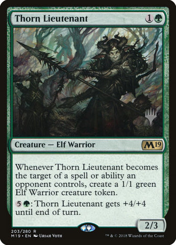 Thorn Lieutenant [Promo Pack: Core Set 2020]