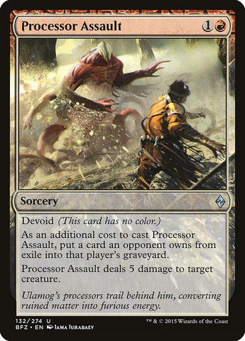Processor Assault [Battle for Zendikar]