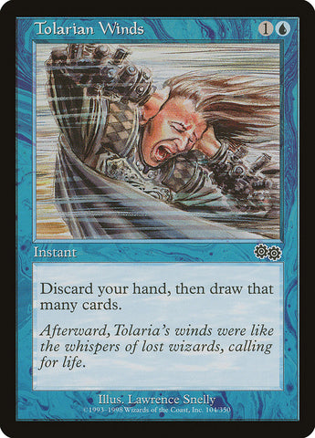 Tolarian Winds [Urza's Saga]