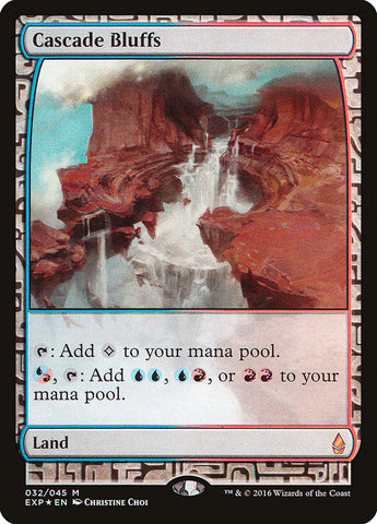 Cascade Bluffs [Zendikar Expeditions]