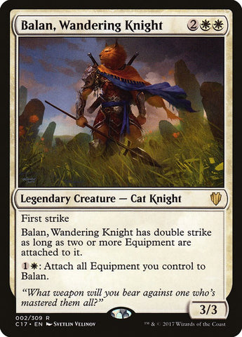 Balan, Wandering Knight [Commander 2017]