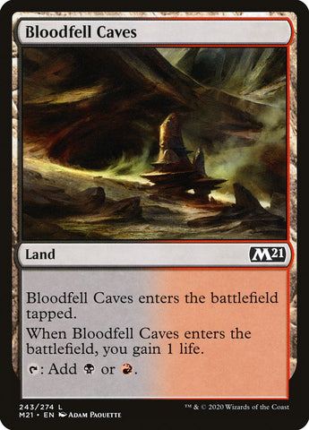 Bloodfell Caves [Core Set 2021]