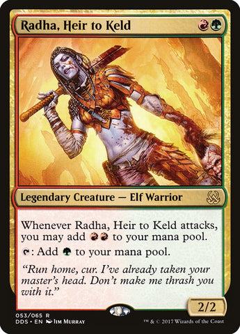 Radha, Heir to Keld [Duel Decks: Mind vs. Might]