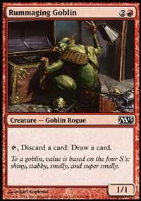 Rummaging Goblin [Magic 2013 (M13)]