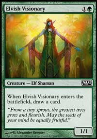 Elvish Visionary [Magic 2013 (M13)]