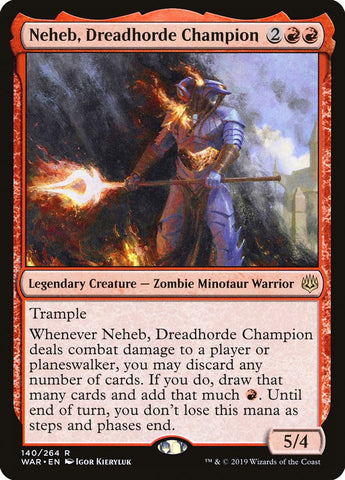 Neheb, Dreadhorde Champion [War of the Spark]