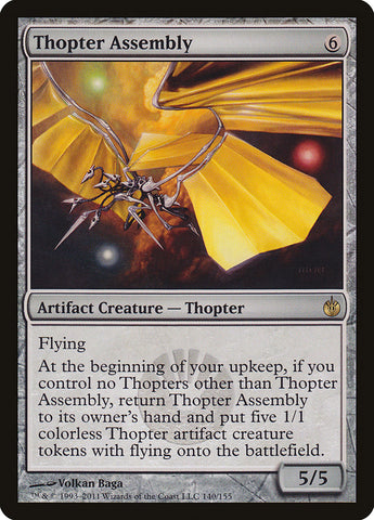 Thopter Assembly [Mirrodin Besieged]