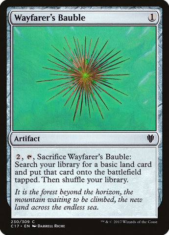 Wayfarer's Bauble [Commander 2017]