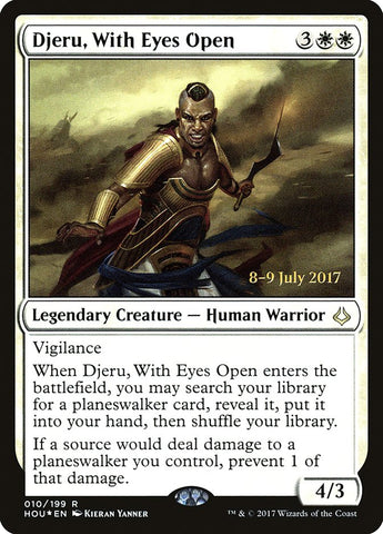 Djeru, With Eyes Open [Prerelease Cards]